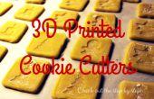 3D impreso cortadores de la galleta de Navidad