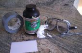 Polvo negro de papel / cañón de pyrodex mini