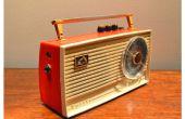 Amplificador de guitarra Vintage Radio