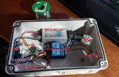 Temporizador de controlado de radio de 433 mhz luz de AC con arduino