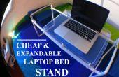 Soporte ordenador portátil barato y ampliable de la cama