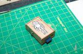 Caja de madera simple complemento juntos frambuesa Pi