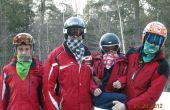 Paño grueso y suave alineado Bandanas: Cómo prevenir congelación disfrutando de deportes de nieve
