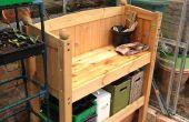 Reciclaje de cama de la cabina en un banco de encapsulamiento