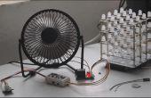 Ventilador USB con control de temperatura @MilCandy