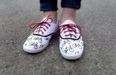 Zapatos de lona de la bicicleta