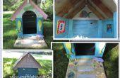 Caseta casa DIY - usando recicla/reutilizar materiales