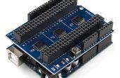 Arduino shield de mux mayhew - soluciones de conexiones de cable (techshop)