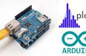 Quadcopter de visualización de datos con Plotly