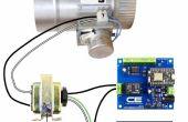 Termostato inteligente controlado por amortiguador de conducto HVAC