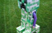 Telescopar Minecraft Creeper traje