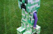 Telescopar Minecraft Creeper traje