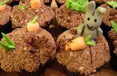 Conejos bellaco! (Receta de cupcake y decoración)