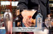 Hacer un Martini de Guy Fawkes para Halloween