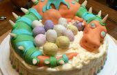 Cómo hacer un pastel de Dragon