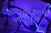 Luces LED de la bicicleta