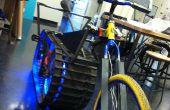 Tanque de moto de nieve masiva A construir bicicleta