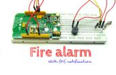 SMS de alarma de incendio