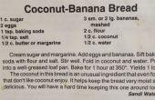 Pan de Banana coco