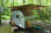 Cómo Steampunk un remolque de Camping de la lágrima (parte 2)