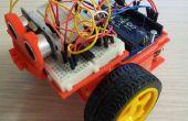 Juguete del coche de motor con arduino uno y 3dprinting