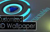 Hacer un 3D Wallpaper personalizada utilizando software libre