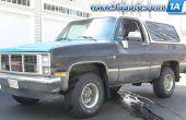 Cómo reemplazar la posterior transferencia caso Tailshaft sello en tamaño completo Chevy Blazer, camioneta Chevy, GMC Jimmy o GMC Truck