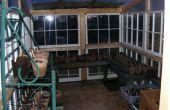 Invernadero de reciclado windows