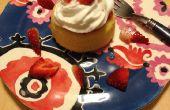 ¿Cómo hacer tarta de fresa en 10 minutos