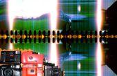 Cámara de plástico raja conversión scan