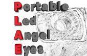 PLAE - ojos de Angel Led portátil [+ 1000lm]