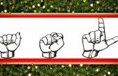 Lenguaje de signos: Comunicación conversacional básica y felicitaciones