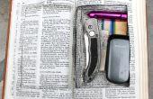 Compartimento secreto de la Biblia.