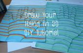 Dibujar a mano en 3D - Tutorial DIY