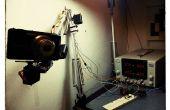Brazo robot de una lámpara de escritorio (terciarias de IKEA hack)