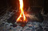 Cómo hacer entrantes chimenea