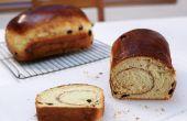 Pan de pasas canela fácil (sin mezclador)