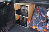 Caja de bricolaje para ir de excursión cargadores en maletero