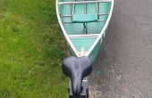Bicicleta carro canoa
