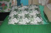 Cómo hacer una funda de almohada Simple