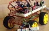 Sin hilos controlar un Robot con Arduino y módulos RF!