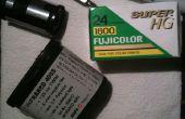 Cómo hacer casera 35mm película Redscale!!!!