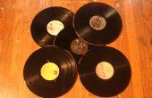 Bandejas de discos de vinilo