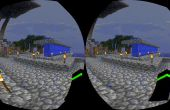 Realidad virtual Minecraft 1.8 con cartulina de Google