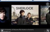 BBC Sherlock traje