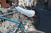 Bicicleta asiento condón