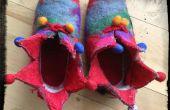 Reanimación de zapatillas de fieltro