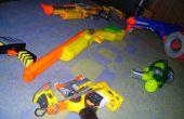 Gran guerra Nerf tácticas y habilidades