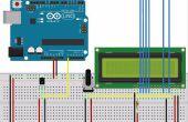 Arduino Uno: Sensor de temperatura con pantalla