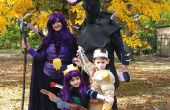 Choque de clanes ataque del partido (un rey bárbaro, arquero Reina, bruja (esqueletos) y P.E.K.K.A.